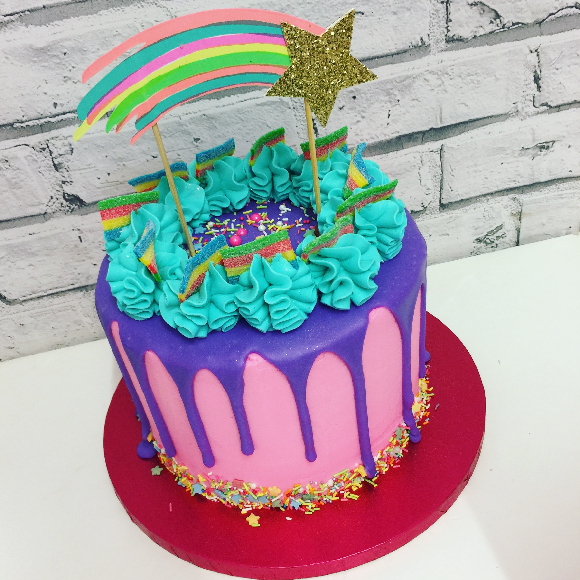 Shooting Star Melt Cake
