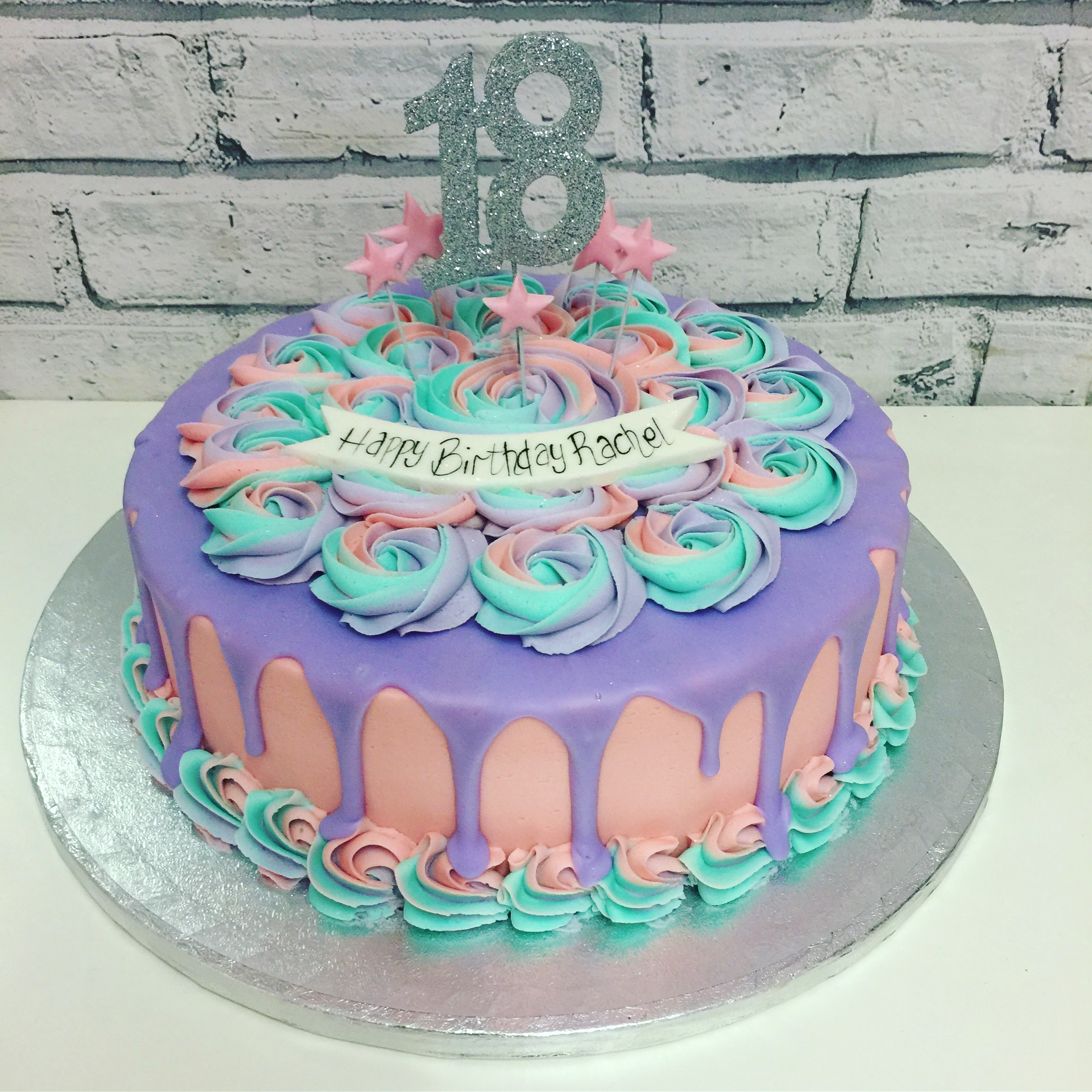 Rose Melt - Purple Rainbow